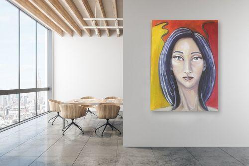 תמונה למשרד - אילה ארויו - ציירת צבעים - מק''ט: 333742