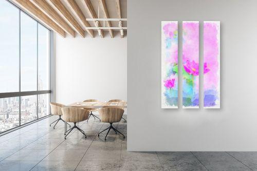 תמונה למשרד - נעמי עיצובים - פרח יפני - מק''ט: 334885