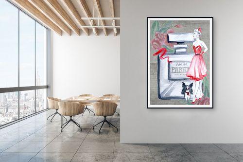 תמונה למשרד - Artpicked - בושם - מק''ט: 338177