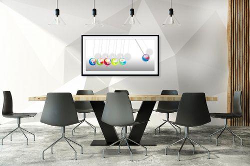 תמונה לחדר ישיבות - נעמי עיצובים - גולות משחק - מק''ט: 188929