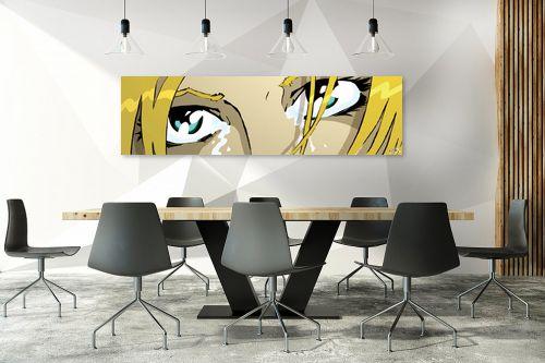 תמונה לחדר ישיבות - חנן אביסף - The eyes blond - מק''ט: 52079
