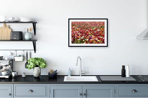 תמונה למטבח - שרית סלימן - פרחים פרחים - מק''ט: 187456