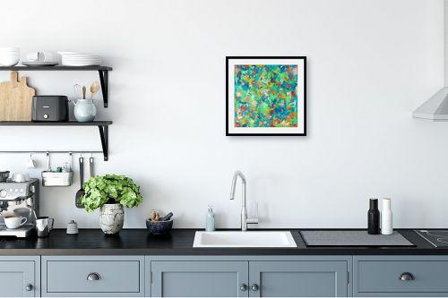 תמונה למטבח - MMB Art Studio - פרחים - מק''ט: 201967
