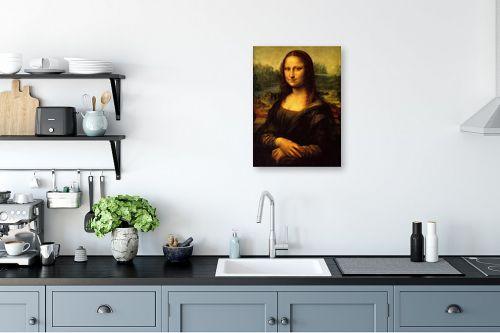 תמונה למטבח - לאונרדו דה וינצי - מונה ליזה - מק''ט: 303466