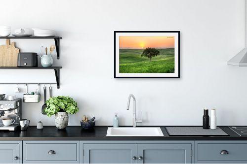 תמונה למטבח - איזבלה אלקבץ - עץ בודד (HDR) - מק''ט: 304018