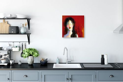 תמונה למטבח - גורדון - ילדה יפה נורא - מק''ט: 321816