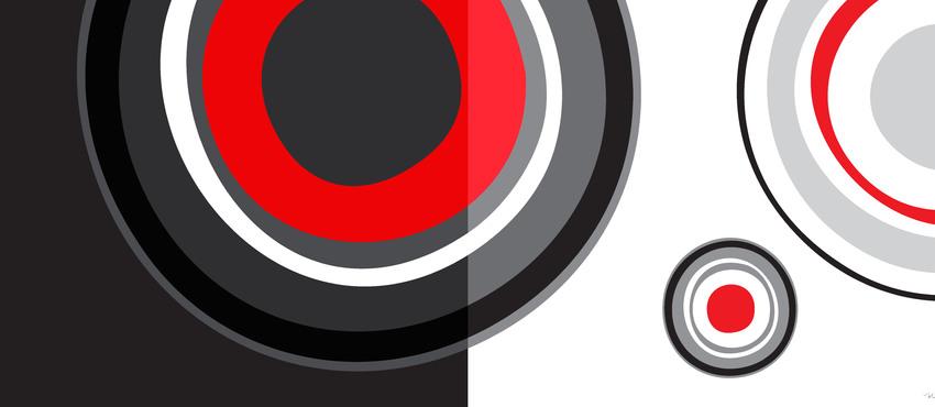 גלריית תמונות שחור לבן אדום