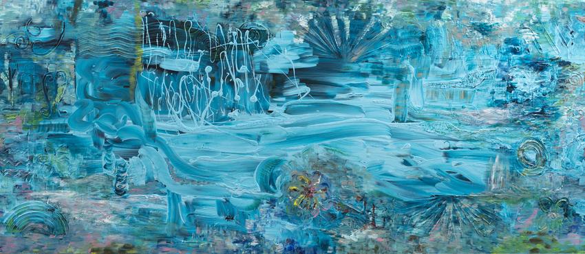 גלריית תמונות שילובים של צבע כחול