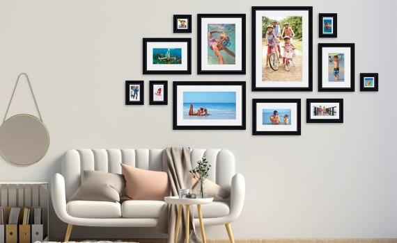 סט קיר משפחה דגם 106 - 12 תמונות