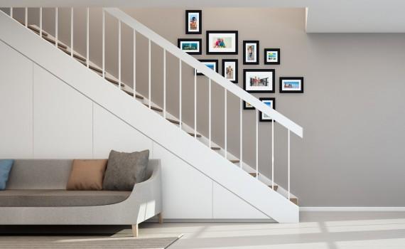 קיר משפחה דגם 112 - סט מדהים של 11 תמונות ממוסגרות בסגנון קלאסי