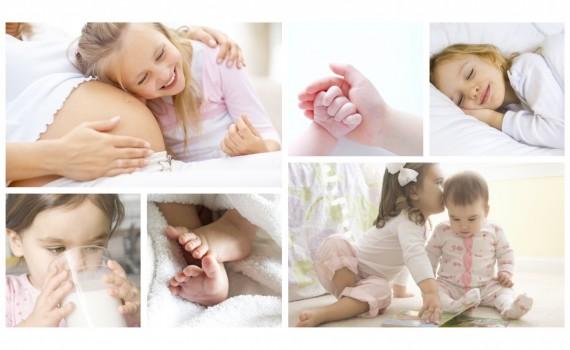 קולאז' תמונות ילדים - להנציח את הרגעים המדהימים