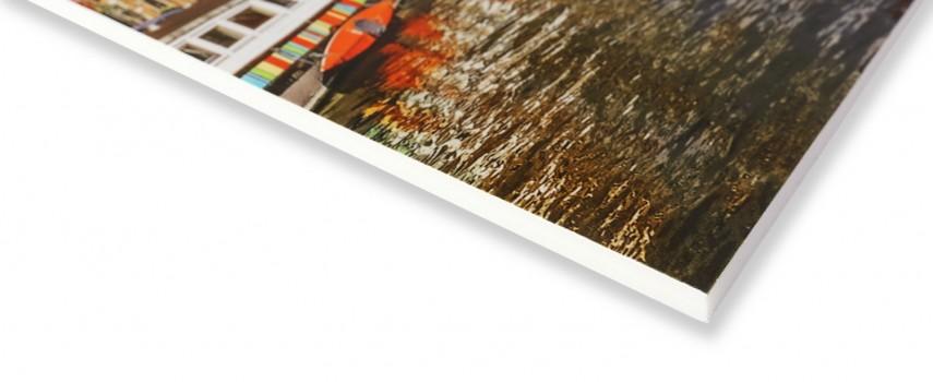 הדפסה על קאפה לבנה עבה - 10 מ'מ עם ציפוי למניציה להגנה