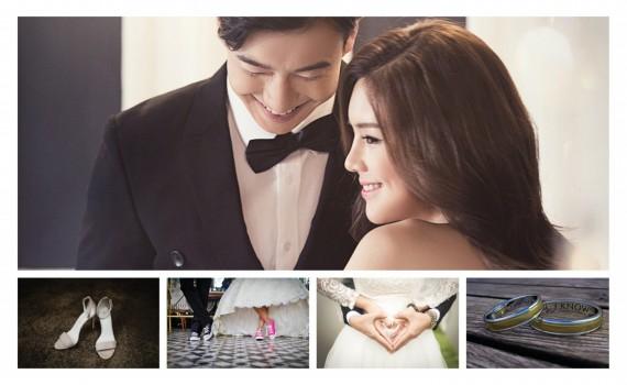 קולאז' תמונות מהחתונה - מזכרת מדהימה