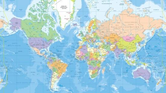 מפות עולם