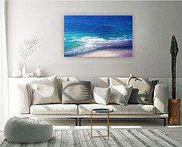 סלון בסגנון ים מים ושמים