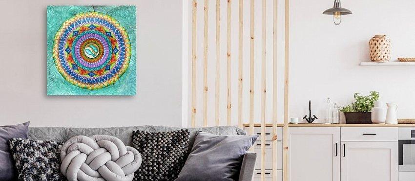 גלריית ציורי מנדלות יפות