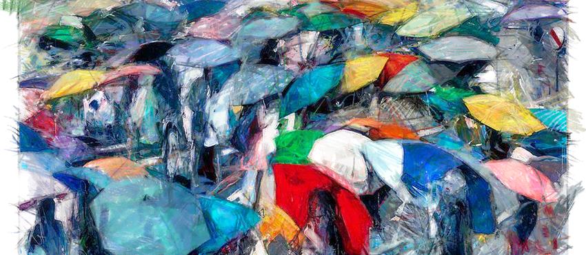גלריית תמונות מטריות
