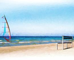 מדבקות קיר ים