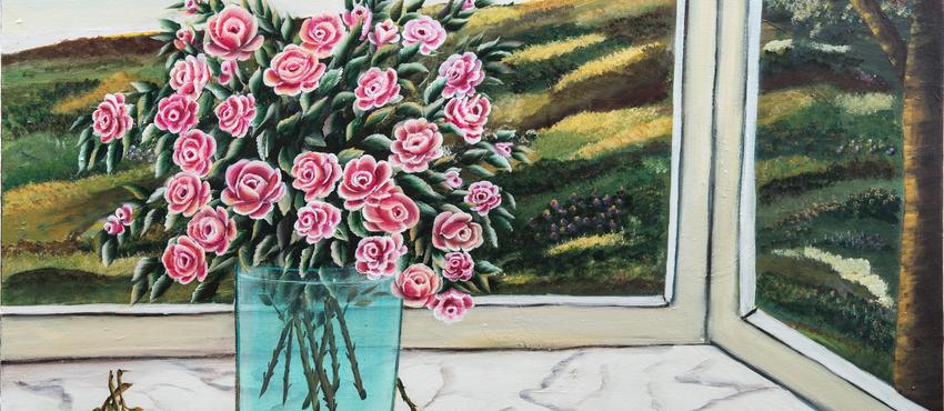 גלריית תמונות של אגרטל פרחים