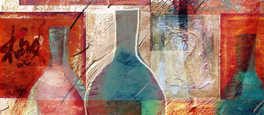גלריית תמונות של קנקן ובקבוקים