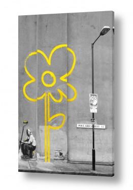 חדרים חדר נוער | Yellow Street flower