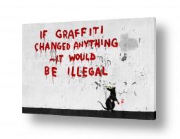 תמונות לפי נושאים קומיקס | if graffiti changed