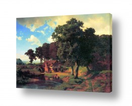 אמנים מפורסמים אלברט בירשטאדט | Albert Bierstadt 001