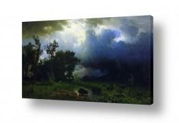 אמנים מפורסמים אלברט בירשטאדט | Albert Bierstadt 003