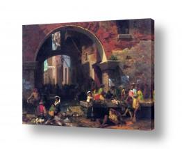 אמנים מפורסמים אלברט בירשטאדט | Albert Bierstadt 047