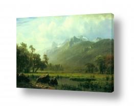 אמנים מפורסמים אלברט בירשטאדט | Albert Bierstadt 055