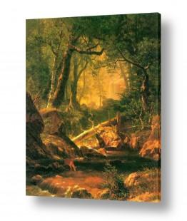 אמנים מפורסמים אלברט בירשטאדט | Albert Bierstadt 063