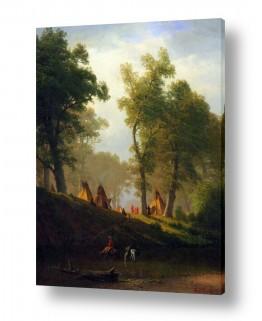 אמנים מפורסמים אלברט בירשטאדט | Albert Bierstadt 067