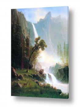 אמנים מפורסמים אמנים מפורסמים שנמכרו | Albert Bierstadt 068
