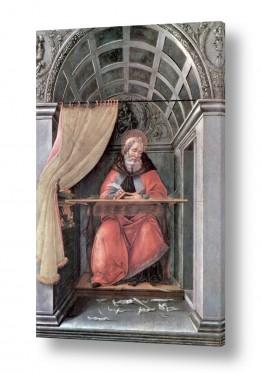 אמנים מפורסמים סנדרו בוטיצ'לי | Botticelli Sandro 030