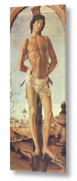 אמנים מפורסמים סנדרו בוטיצ'לי | Botticelli Sandro 031