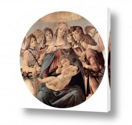 אמנים מפורסמים סנדרו בוטיצ'לי | Botticelli Sandro 035