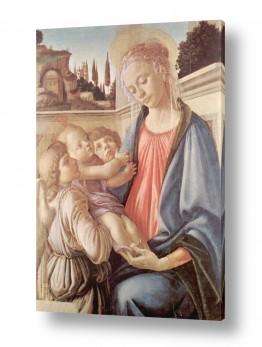 אמנים מפורסמים סנדרו בוטיצ'לי | Botticelli Sandro 036