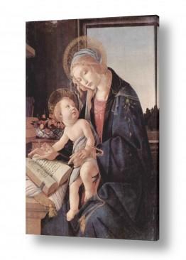 אמנים מפורסמים סנדרו בוטיצ'לי | Botticelli Sandro 037
