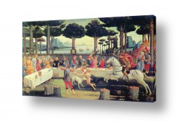 אמנים מפורסמים סנדרו בוטיצ'לי | Botticelli Sandro 042