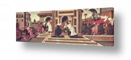 אמנים מפורסמים סנדרו בוטיצ'לי | Botticelli Sandro 043