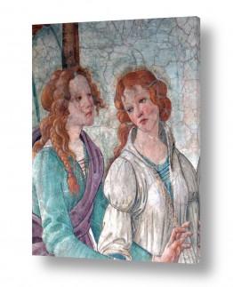 אמנים מפורסמים סנדרו בוטיצ'לי | Botticelli Sandro 047