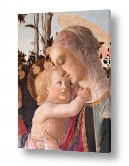 אמנים מפורסמים סנדרו בוטיצ'לי | Botticelli Sandro 049