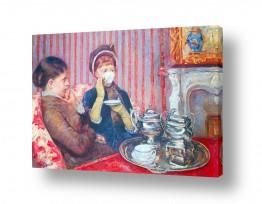 אמנים מפורסמים מארי קאסאט | Cassatt Mary 001