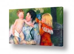 אמנים מפורסמים מארי קאסאט | Cassatt Mary 002