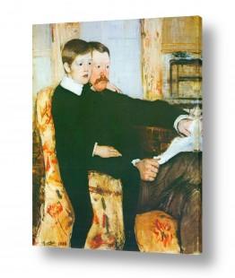 אמנים מפורסמים מארי קאסאט | Cassatt Mary 003