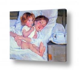 אמנים מפורסמים מארי קאסאט | Cassatt Mary 007