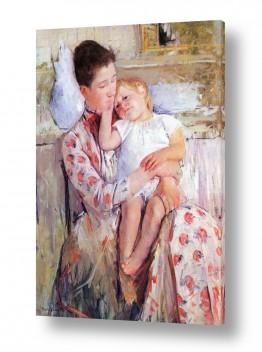 אמנים מפורסמים מארי קאסאט | Cassatt Mary 024
