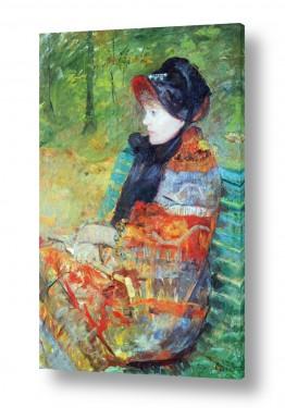 אמנים מפורסמים מארי קאסאט | Cassatt Mary 031