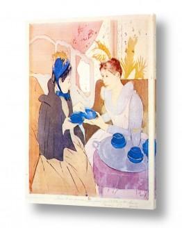 אמנים מפורסמים מארי קאסאט | Cassatt Mary 034