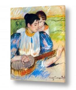 אמנים מפורסמים מארי קאסאט | Cassatt Mary 035